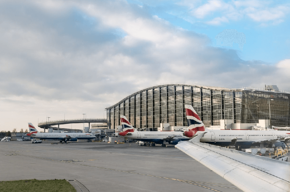 ba planes grounded at airport