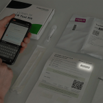 Activate by typing in barcode found on your PCR test kit