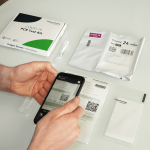 Zap the QR Code for your at home PCR test